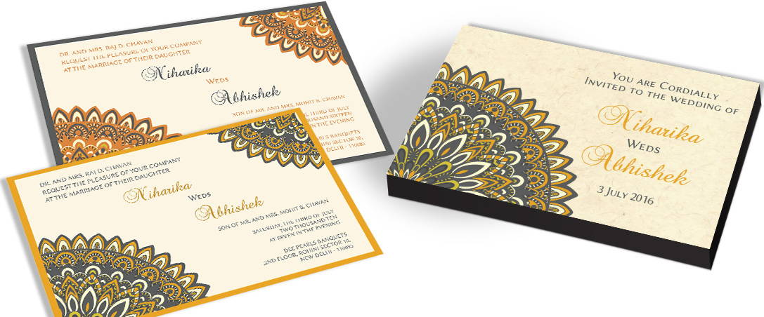Elegant Traditional Invitation Cards