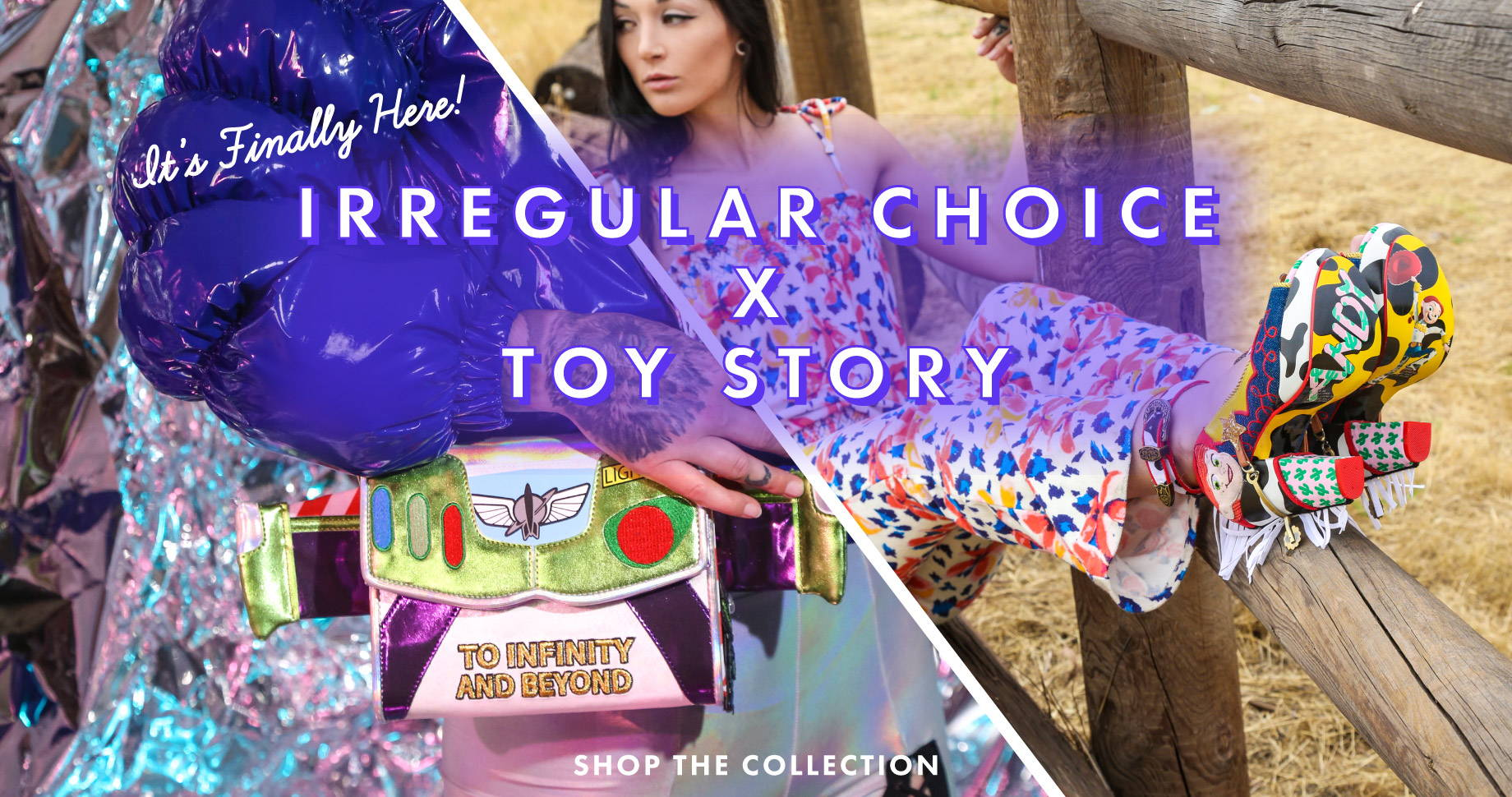 It's Finally Here!  Irregular Choice x Toy Story | Shop the Collection