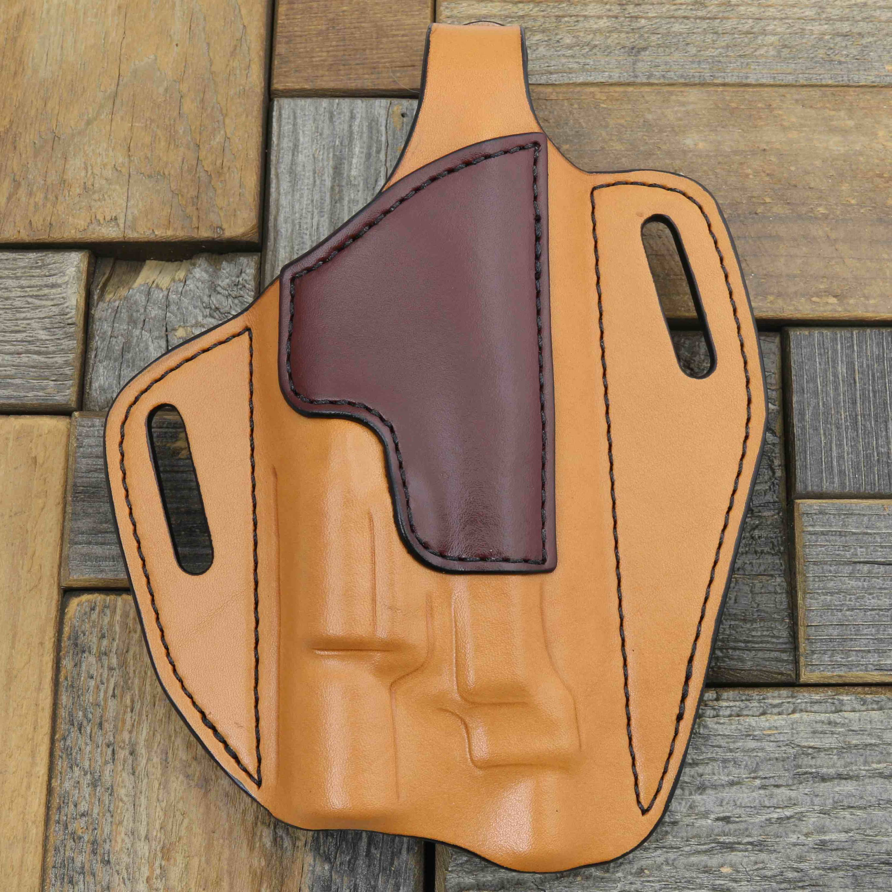 Custom holster with laser