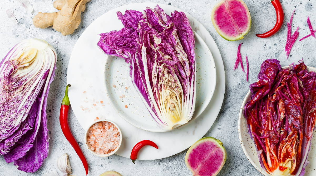 kimchi cabbage for gut health|15 foods to improve gut health|microbiome