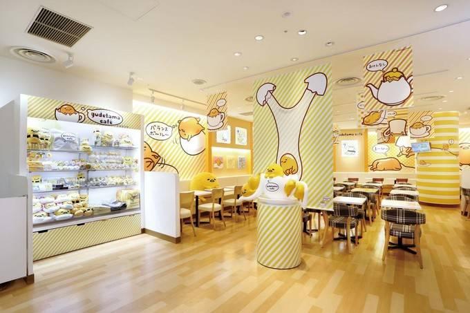 Gudetama Cafe in Osaka