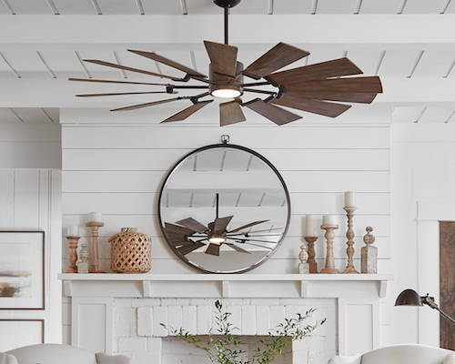 Monte Carlo Fans Prairie Indoor/Outdoor Ceiling Fan