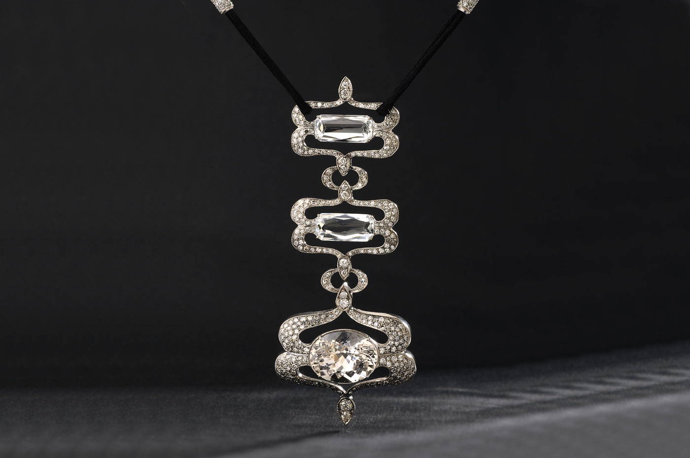 Image of the Empress Diamond Necklace at The Chicago Field Museum