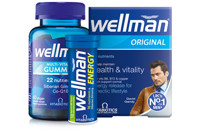 Wellman - Men's Supplements Page