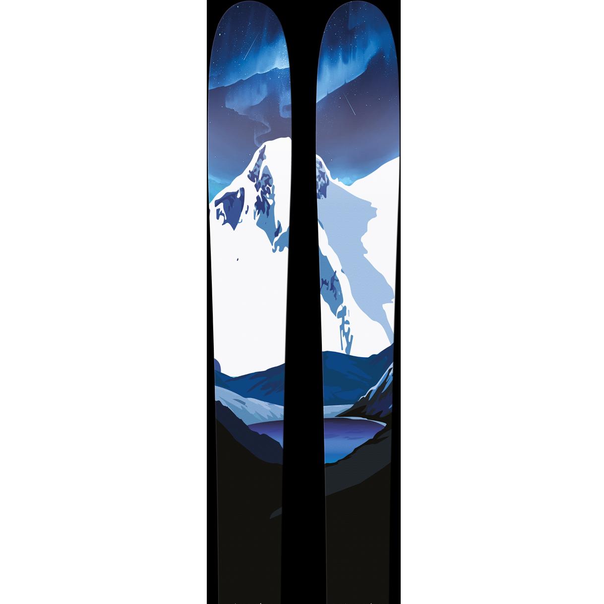 SGN skis Jostedalen Carbon Toppturski