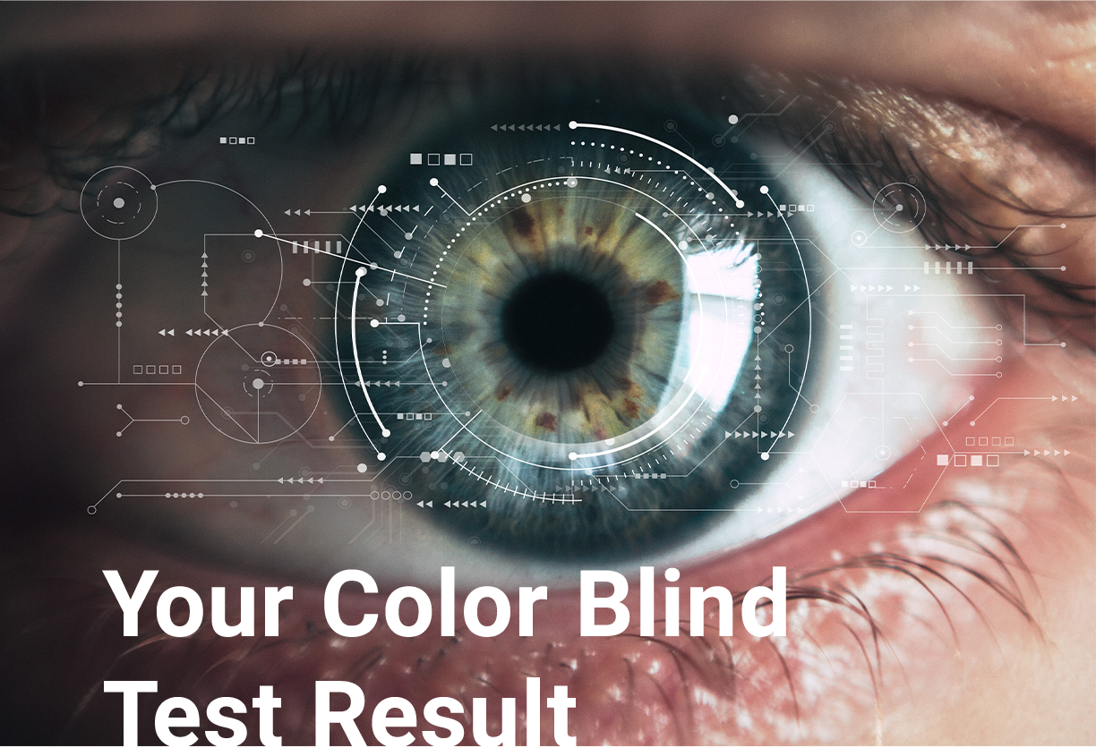 Strong Protan (Protanomaly) Test Results | EnChroma® Color Blind Test | EnChroma® Color Blind Glasses – EnChroma