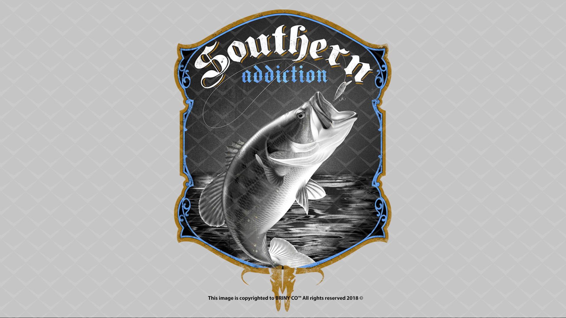 fish background graphic briny