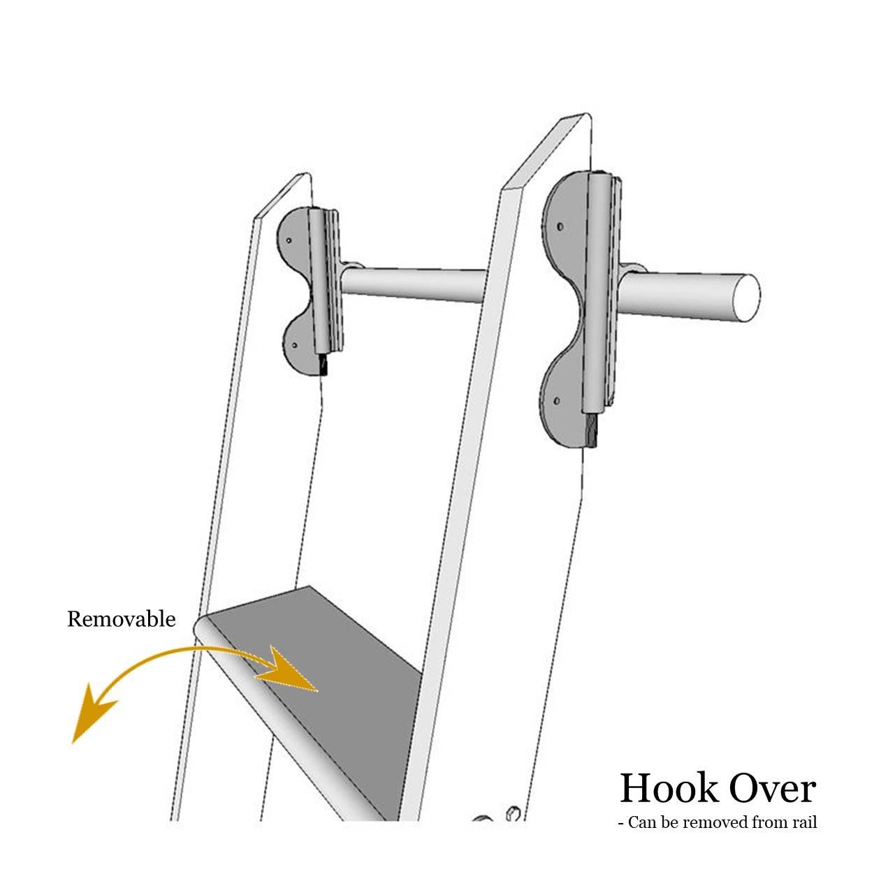 Hook over ladder