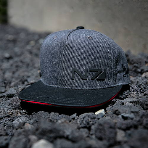 Product photo of the Mass Effect N7 Special Forces Snap Back Hat