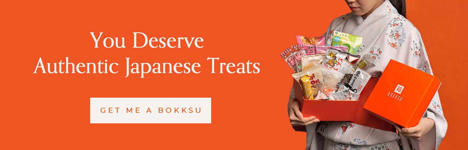 You deserve authentic Japanese treats