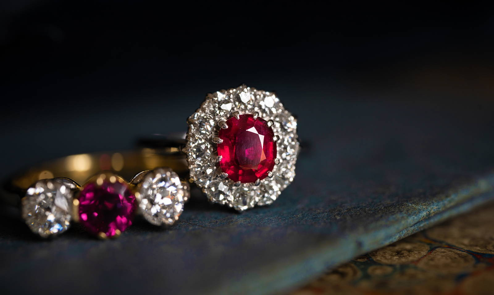 One-of-a-Kind  Engagement Rings