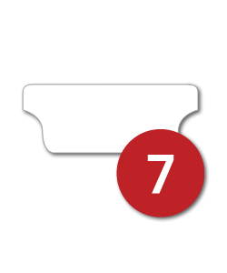 7 Tabs/Set