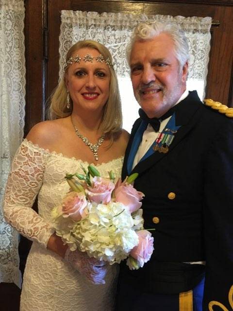 Henne Engagement Ring Couple Bob & Claire Sharing Happiness on Their Wedding Day
