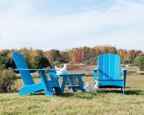 Modern Patio Chairs - Adirondack