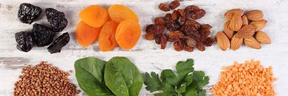 Eisenhaltige vegane Lebensmittel