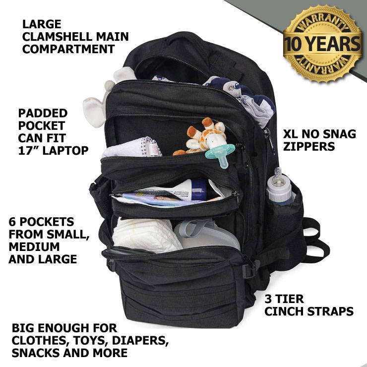 Tactial Diaper Bags by Active Doodie Diaper Bags for Dads, Military Diaper Bags for Daddy