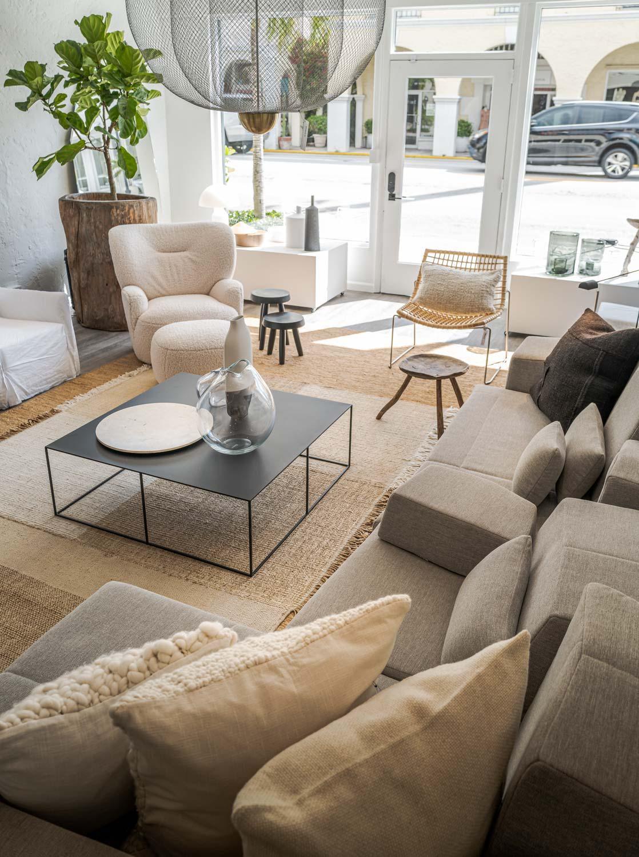 JANGEORGe Interiors & Furniture Palm Beach showroom
