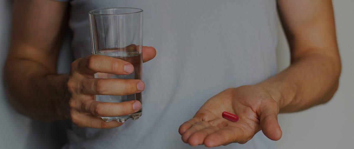 A natural nutritional supplement designed for men.
