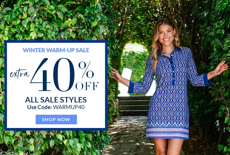 Winter Warm-Up Sale: Extra 40% Off