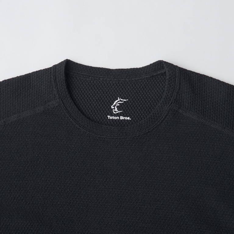Teton Bros.(ティートンブロス)/MOB ウール ロングスリーブ/ブラック/MENS