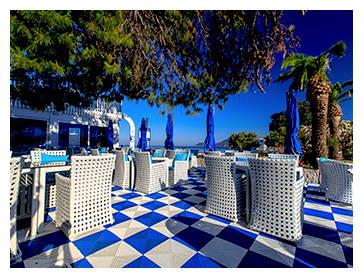 dalles clipsables de terrasse et restaurant