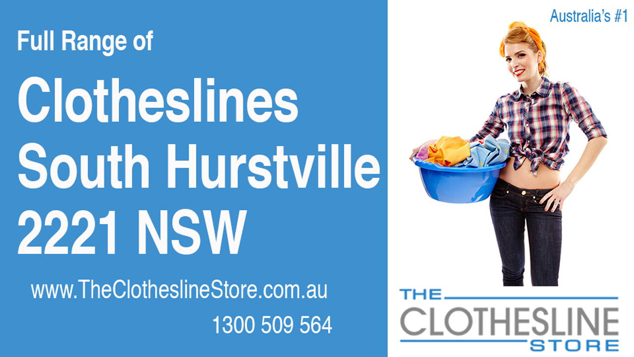 Clotheslines South Hurstville 2221 NSW