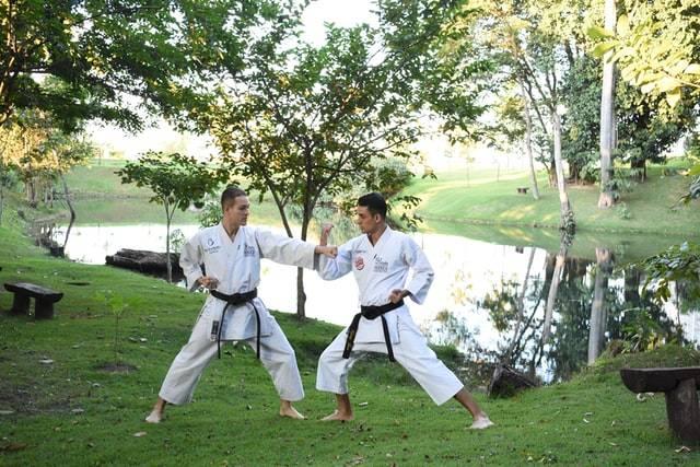 People Doing Karate
