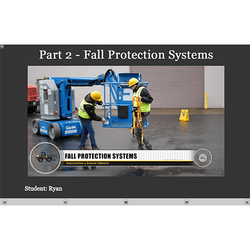 Fall Protection E-Learning Module