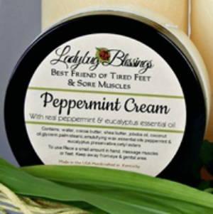 Foot Cream, peppermint foot cream, natural foot care product, foot care product, cooling foot cream