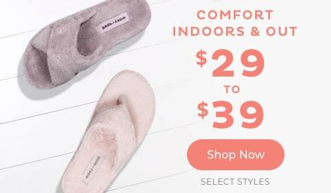 $29 to $39 Select Styles