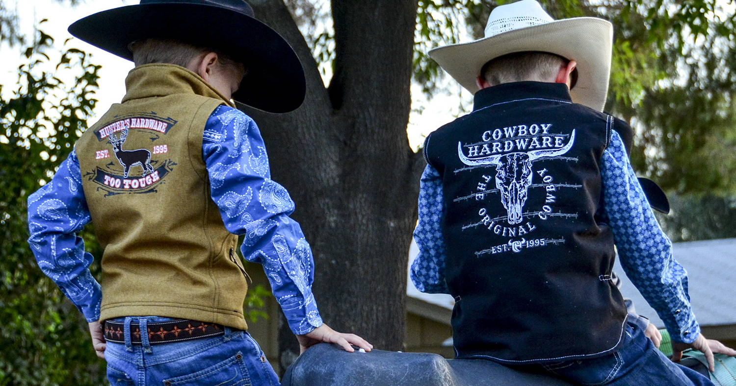1dd5f37451245c With their feet firmly planted in the cowboy apparel and cowgirl apparel  industry, and their little girl Presley rapidly growing and needing cute  and ...