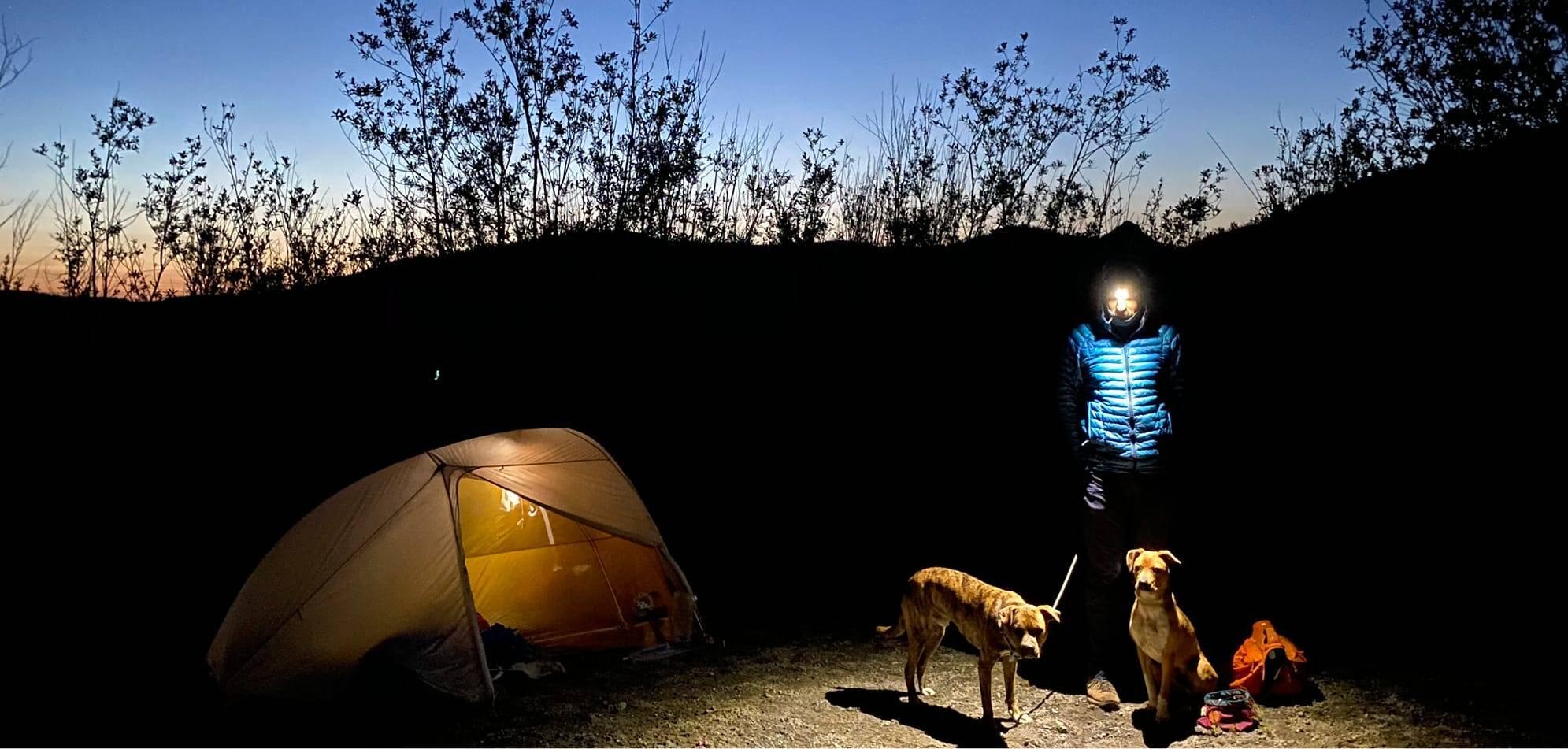 steve golebiewski camping