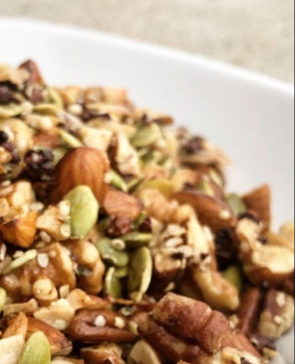 vegan grain-free granola