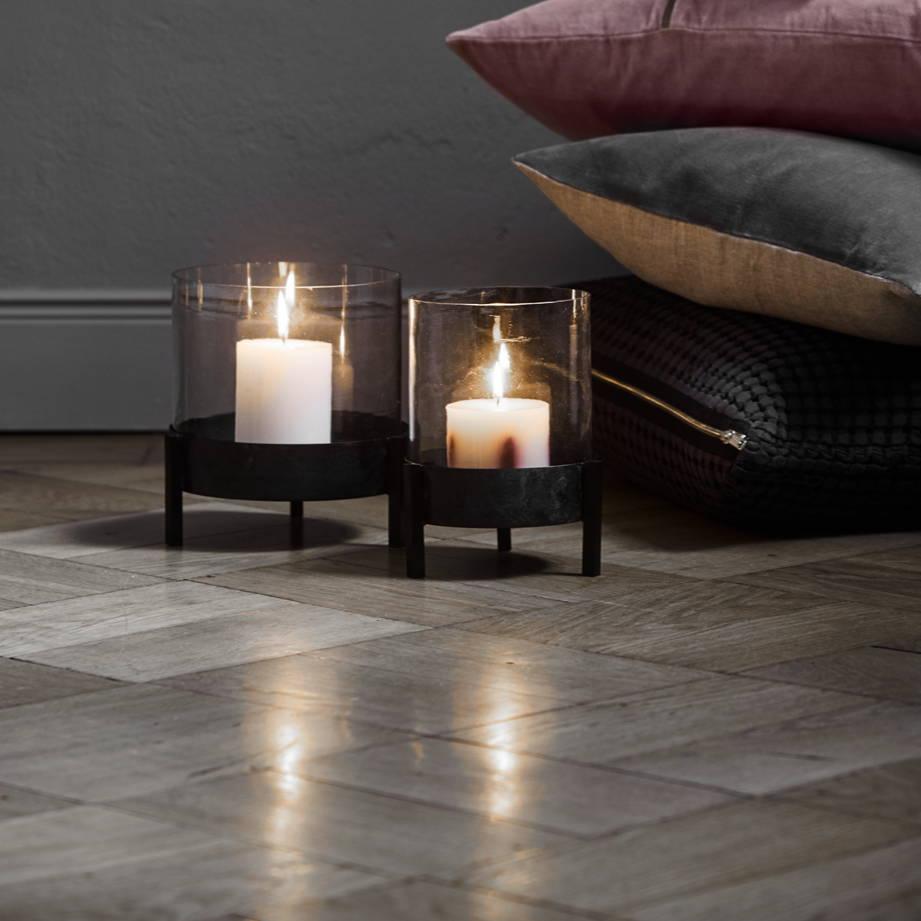 Hygge-Feeling mit Kerzenlicht Kerzenständer Windlicht