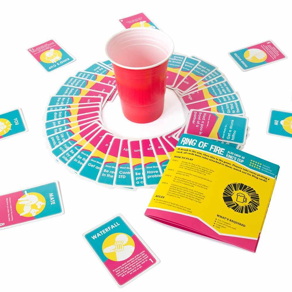 Ring of Fire game in Trunk of Drunk