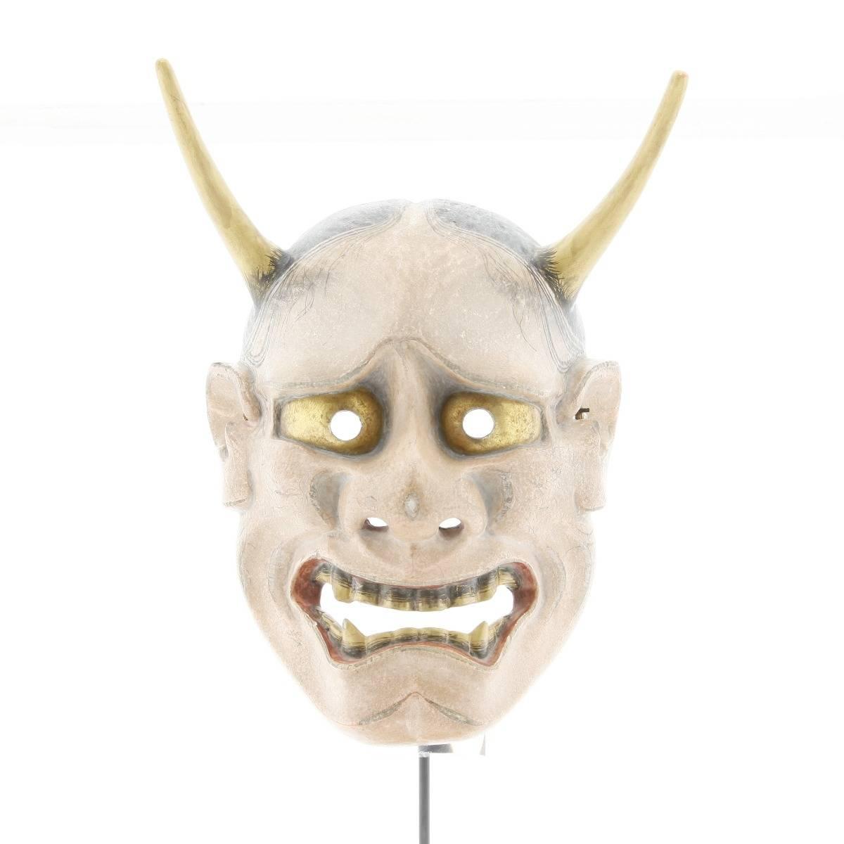 japanese noh mask, hannya