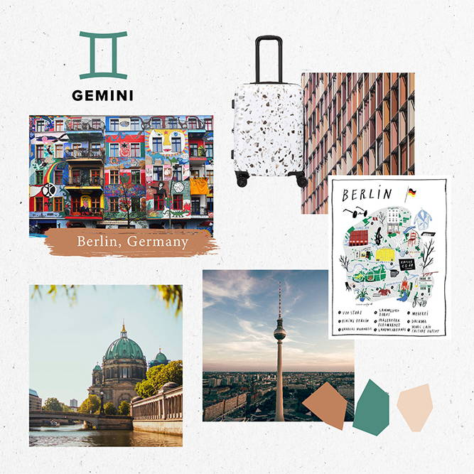 Horoscope, 2020, Travel, gemini, berlin, germany
