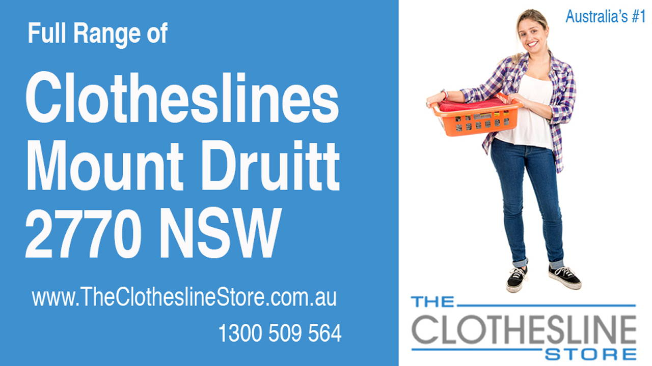 New Clotheslines in Mount Druitt 2770 NSW