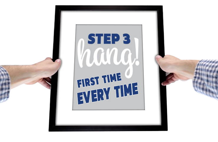 The Best Picture Hanging Tool Hang It Perfect Crescent Creative