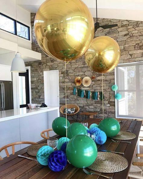 Gold Metallic Sphere Balloon