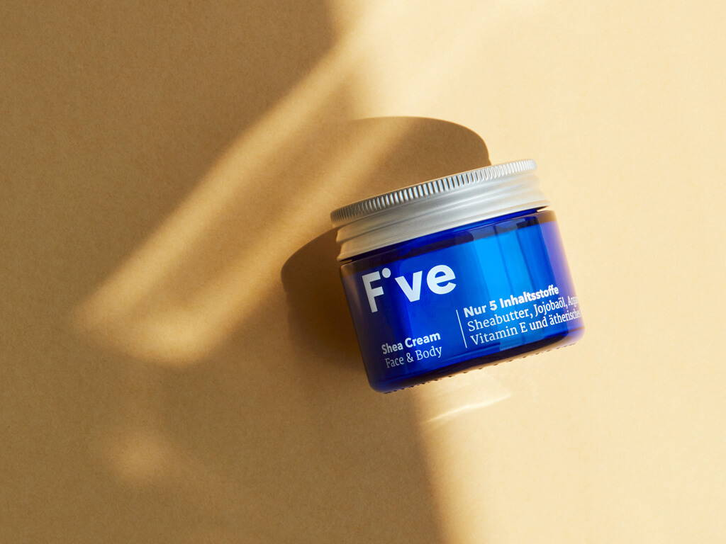 Five Shea Cream – wenige Inhaltsstoffe – echte Wirkung