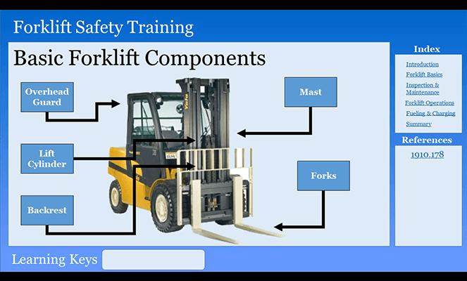 Forklift Components