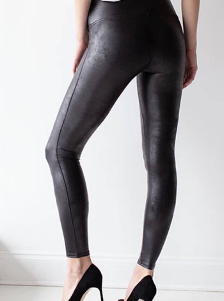 spanx faux leatherleggings