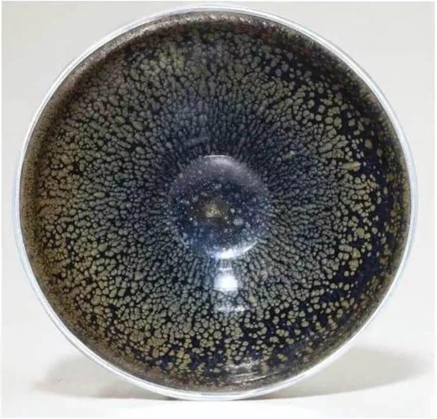 oil-spot jian ware