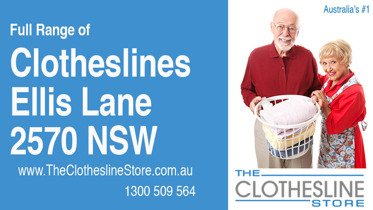 New Clotheslines in Ellis Lane 2570 NSW