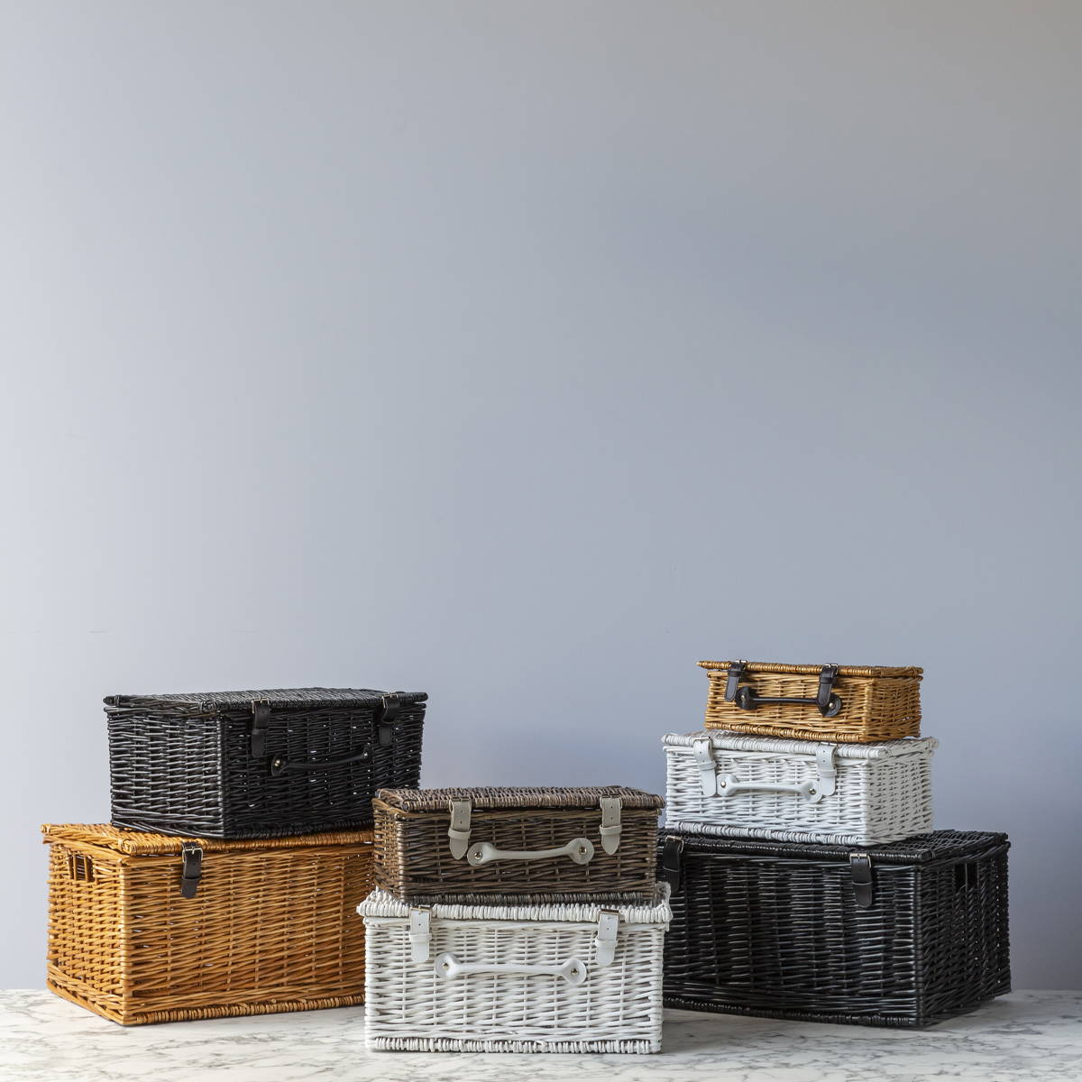 Wholesale Empty Wicker Hampers