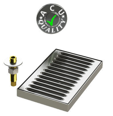 Surface Mount Drip Trays with Drain