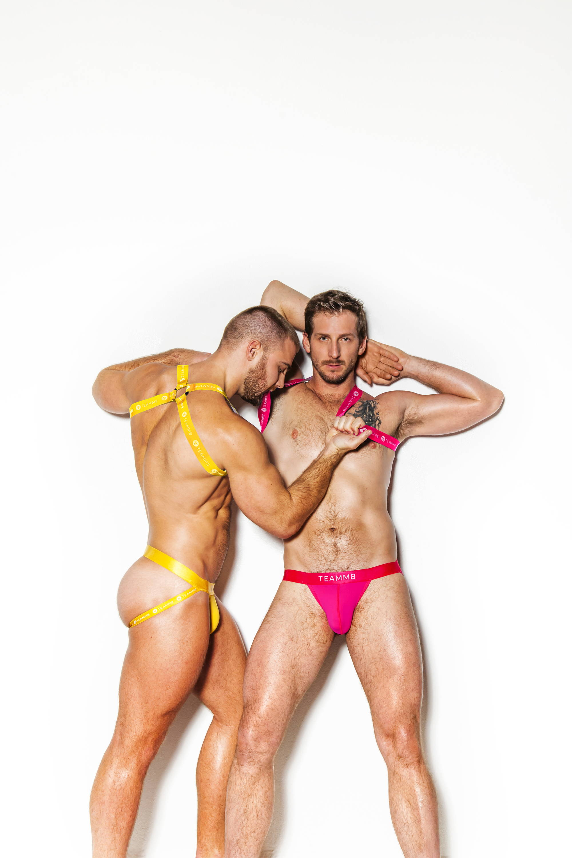 Teamm8 Jock - Yellow & Pink