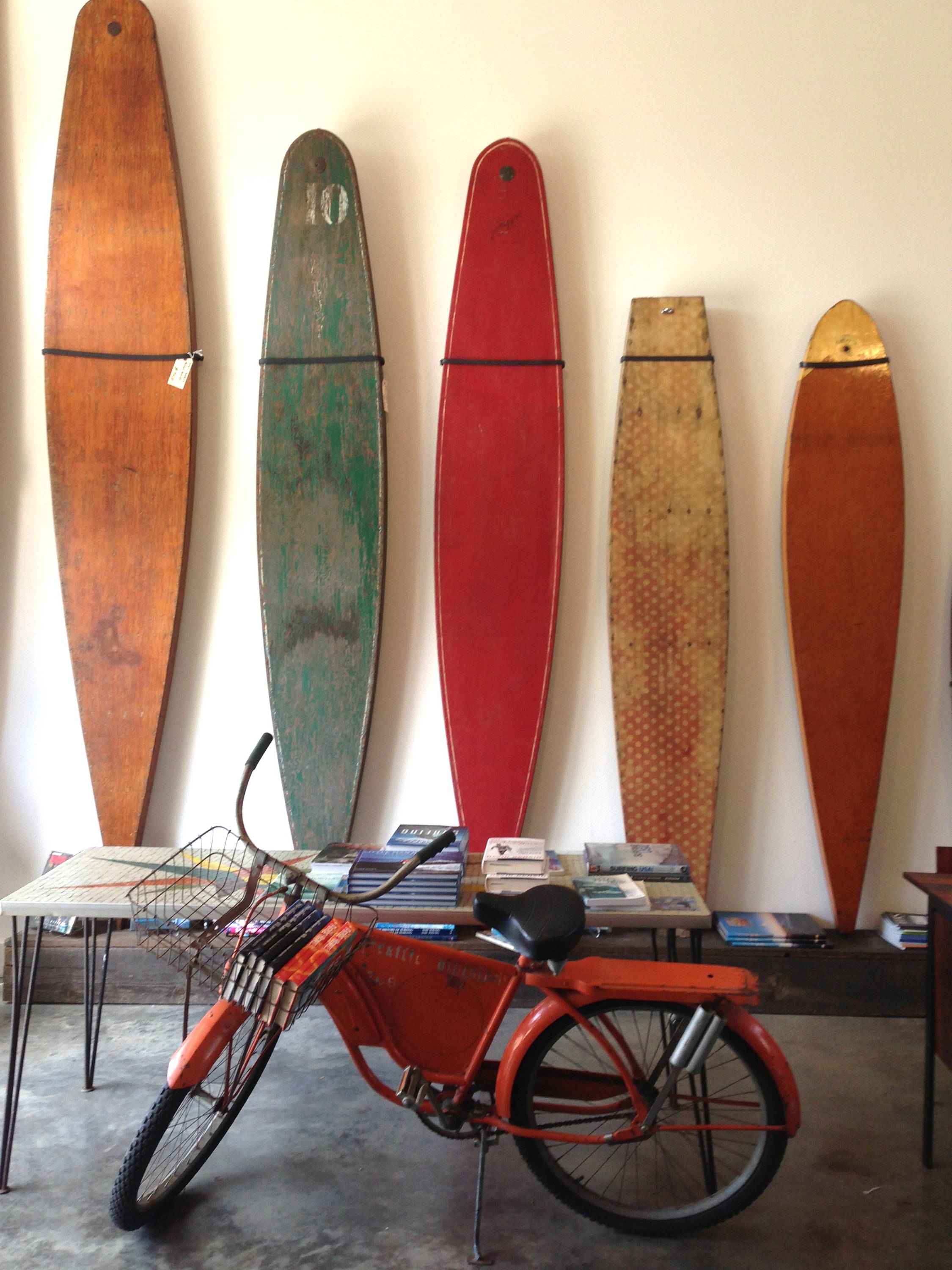 installation of paddleboards