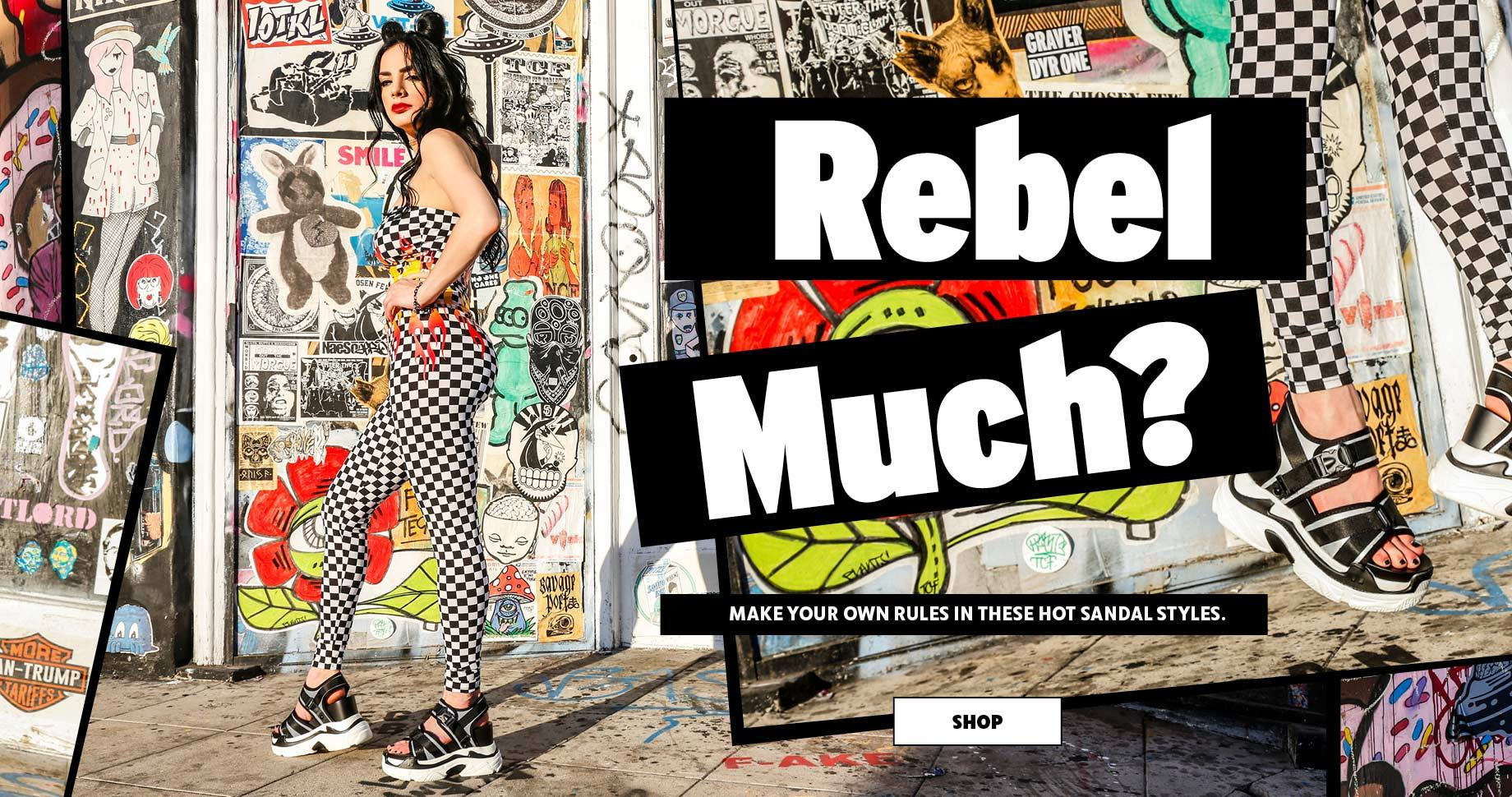 Rebel much? Make your own Rules in these hot sandal styles | SHOP